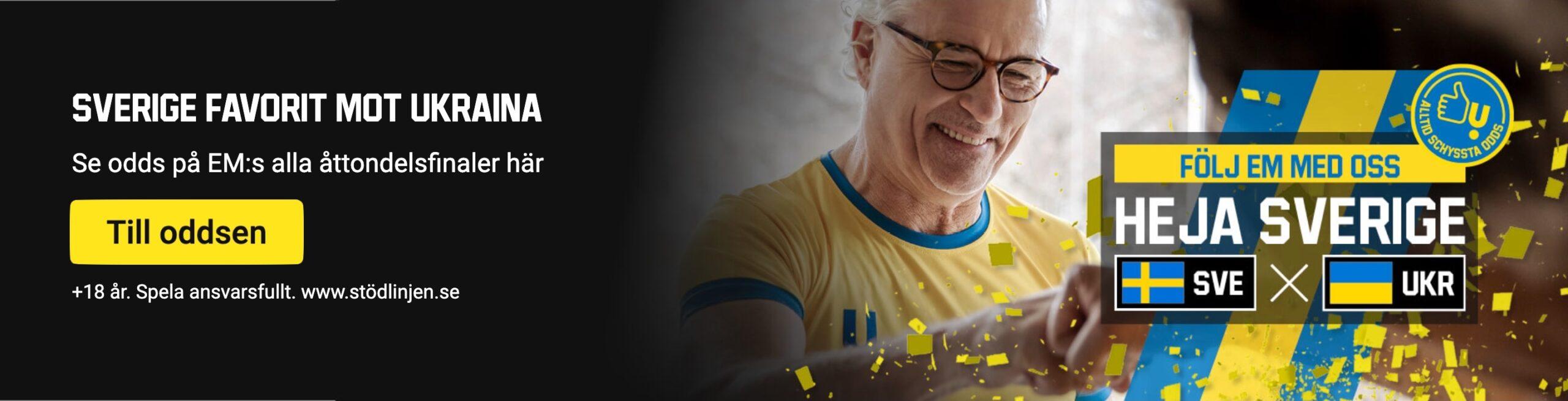 Streama Sverige Ukraina live online