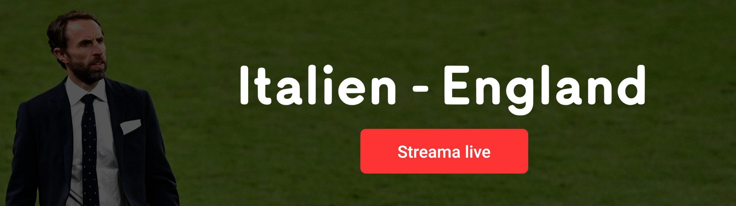 Streama Italien England live online