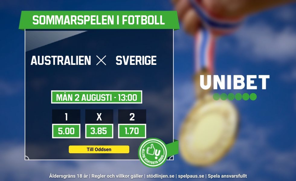 Sverige vs Australien live stream free